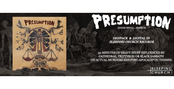 SCR First release: Presumption [Doom metal - France]